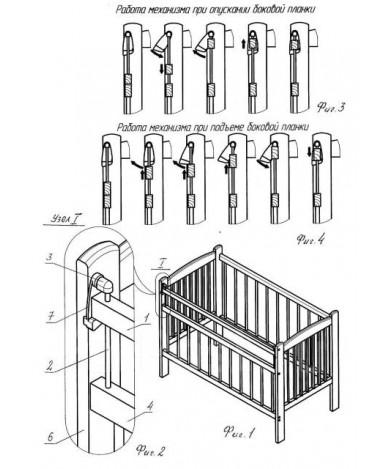 Кровать детская Bambini Euro Style 05, белый