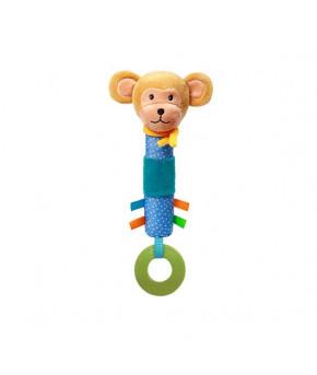 Развивающая игрушка BabyOno Ослик пищалка Обезьянка