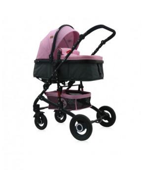 Модульная коляска 2 в 1 Lorelli Alba Classic Candy Pink