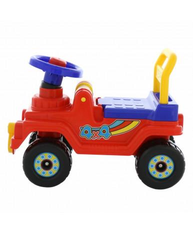 Автомобиль-каталка Полесье Джип 4х4 (красный)