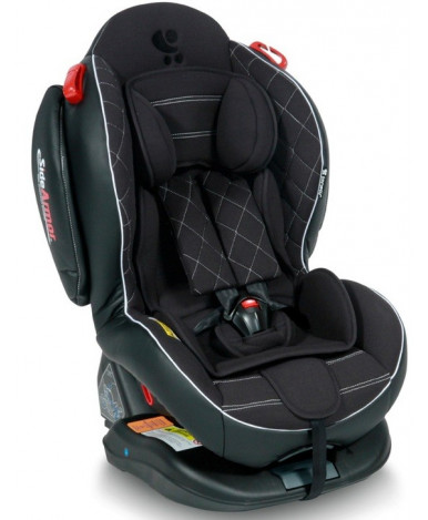 Автокресло Lorelli Arthur ISOFIX Black Leather (0-25кг)