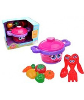 Набор детской посуды Кухня Музыкальная кастрюля