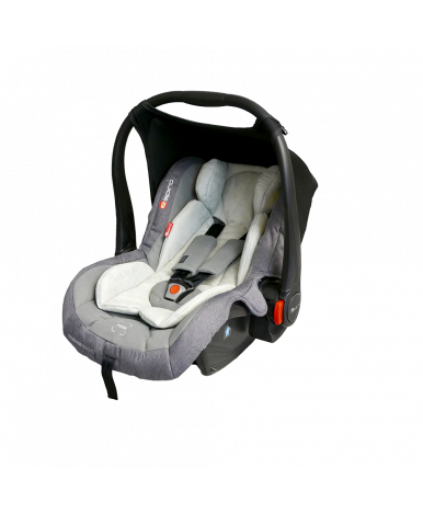 Автокресло Baby Design Leo серый (0-13кг)