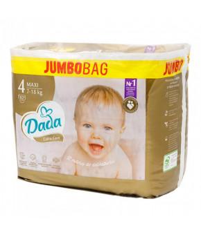 Подгузники DaDa Extra Care 4 MAXI JUMBO BAG 7-18кг 82шт