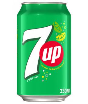 Напиток 7 Up 0,33л
