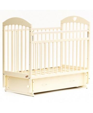 Кровать детская Bambini Euro Comfort 19, слоновая кость
