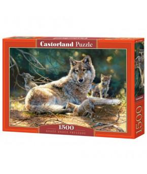 Пазл Castorland 1500 (Волки)
