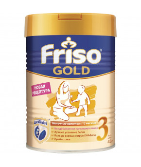 Смесь Friso Gold 3 LockNutri, 400г