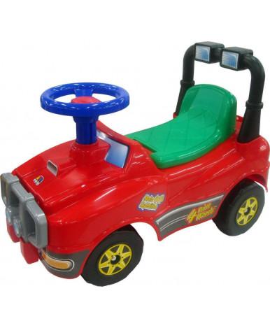 Автомобиль-каталка Полесье Джип (красный)