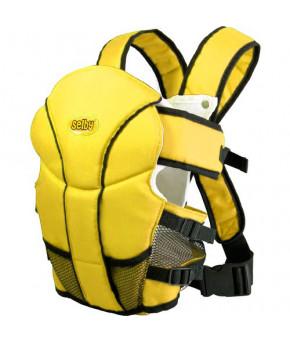 """Рюкзак-кенгуру """"Selby"""" Люкс жёлтый"""