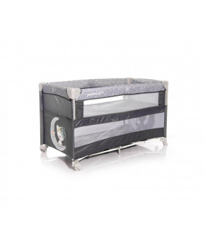 Манеж Lorelli Cot Up and Down Grey Cute Moon