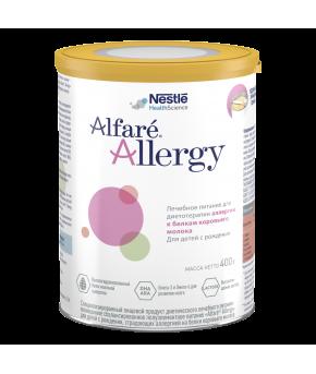 Смесь Nestle Alfare Allergy для страдающих аллергией 400г