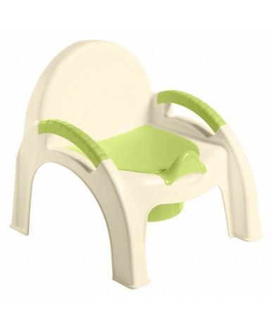 Горшок-стульчик Пластишка салатовый