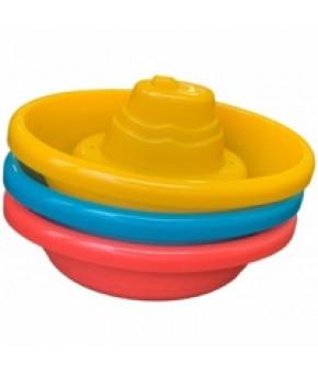 Игрушка для ванны Baby Mix Лодочки пластиковая