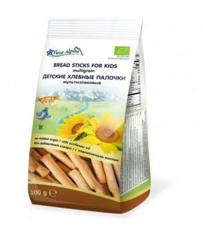 Палочки мультизлаковые Fleur Alpine ORGANIC для детcкого питания 100г
