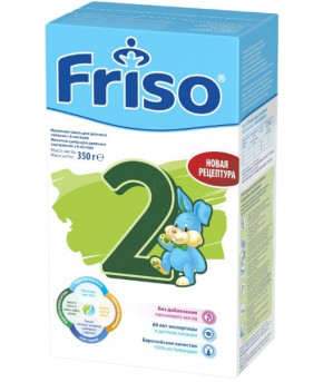 Смесь Friso Lac 2 LockNutri молочная, 350г
