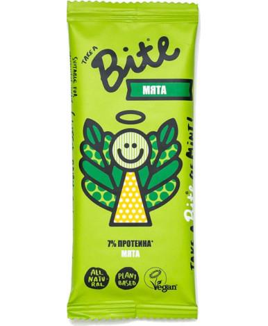 Батончик фруктово-ореховый Bite Мята 45г