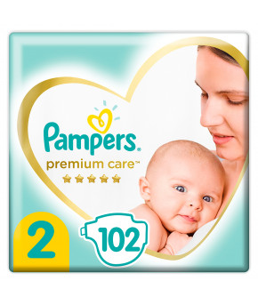 Подгузники Pampers Premium Care 2 (4-8 кг) 102шт
