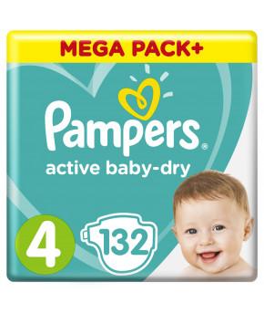 Подгузники Pampers Active Baby 4 (9-14кг) 132шт