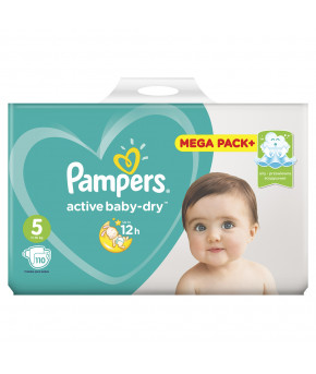 Подгузники Pampers Active Baby 5 (11-16кг) 110шт