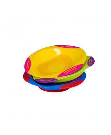Тарелка BabyOno с присоской, 3+