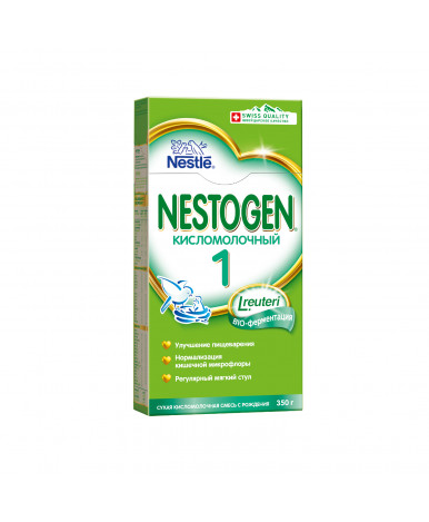 Смесь Nestle Nestogen 1 кисломолочная, 350гр