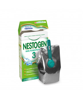 "Смесь ""Nestle"" Nestogen 3 кисломолочная, 350гр"