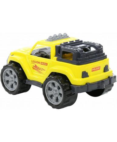 Автомобиль Полесье Легион №3 жёлтый
