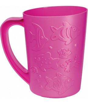 """Кувшин """"Пластишка"""" детский для купания 1,08 л (розовый)"""