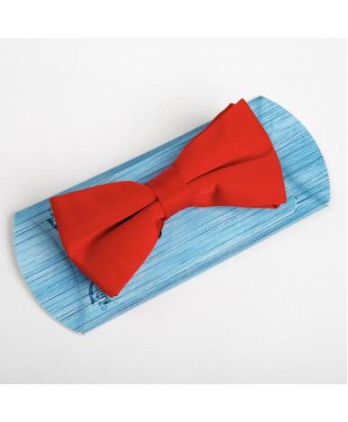 Галстук-бабочка, красная, 6 х12 см, п/э 2537634