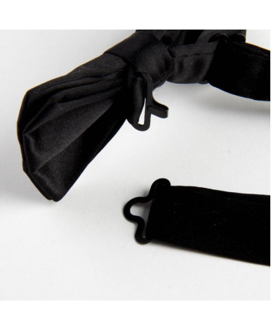 Галстук-бабочка, черная,5 х10 см, п/э 2537638