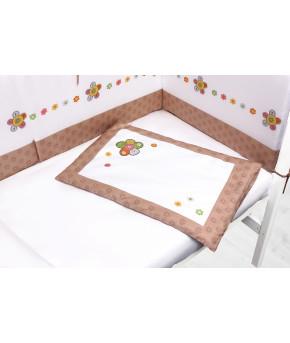 Комплект Perina Тиффани в кроватку Цветы 4пр
