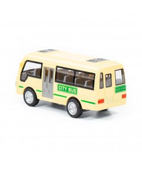 Автомобиль инерционный Полесье Городской автобус в коробке