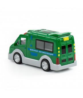 Автомобиль Полесье ВАИ инерционный (со светом и звуком) (в коробке)