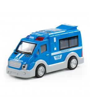 Автомобиль инерционный Полесье Полиция со светом и звуком (в коробке)