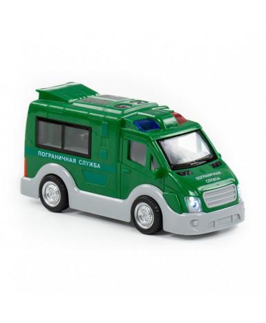 Автомобиль Полесье Пограничная служба, инерционный (со светом и звуком) (в коробке)