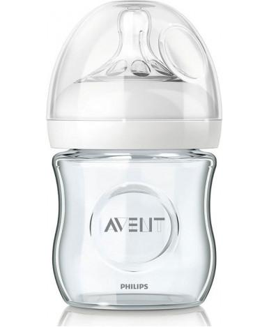 "Бутылочка ""Avent"" Natural стекло, 120мл"