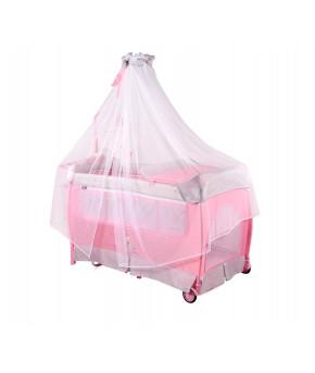 Кровать-манеж Lorelli Sleep N Dream Rocker Pink Ballet