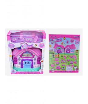 Кукольный домик 666-001