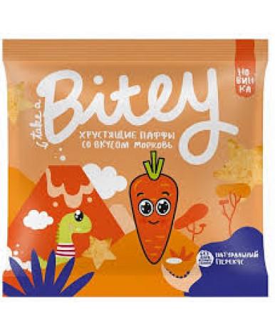 Паффы мультизлаковые Bitey Морковь 20г