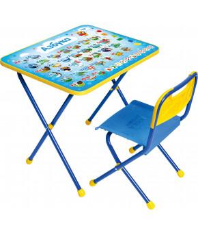 Мебельный комплект Nika Kids Азбука 1