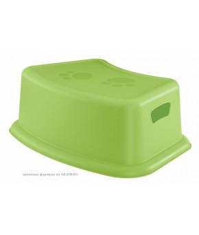 Подставка Пластишка для ног салатовая