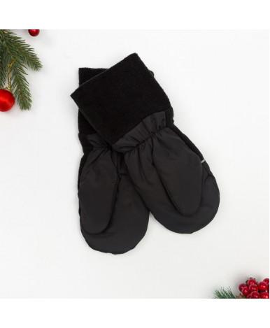 Варежки для мальчика, рост 12 размер 2-3 года см, цвет черный М-3   3597337