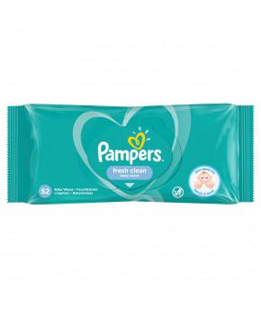 Салфетки влажные Pampers Baby Fresh Clean 52шт