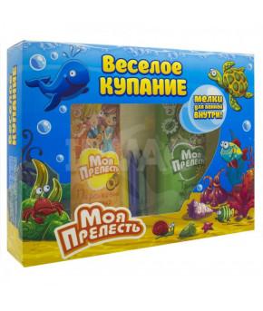 """Подарочный набор Моя Прелесть """"Веселое купание"""" шампунь-гель 250мл"""
