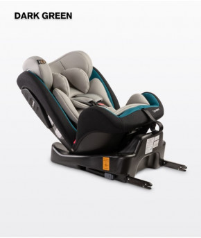 Автокресло Caretero Mokki Isofix Dark Green (9-36кг)
