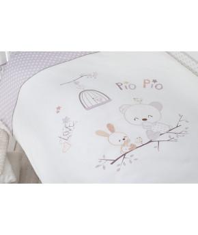 Комплект в кроватку Perina Pio Pio 7 пр
