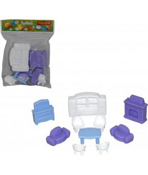 Набор Polesie мебели для кукол №3 (10 элементов в пакете)