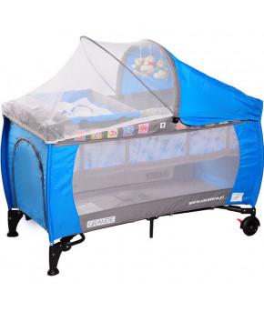 Манеж-кровать Caretero Grande, blue