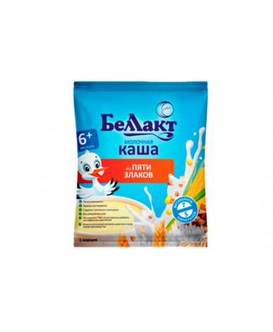 Каша Беллакт из 5 злаков молочная мягкая упаковка 35г